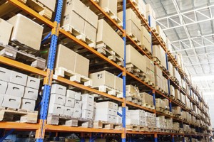 parcel storage warehouse